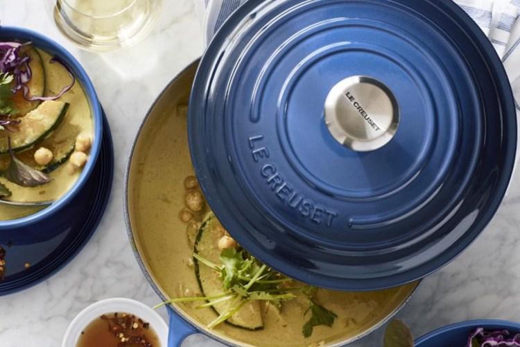 Le Creuset Signature Enameled Cast Iron Essential Oven, 3 1/2-Qt., now on sale at Williams Sonoma