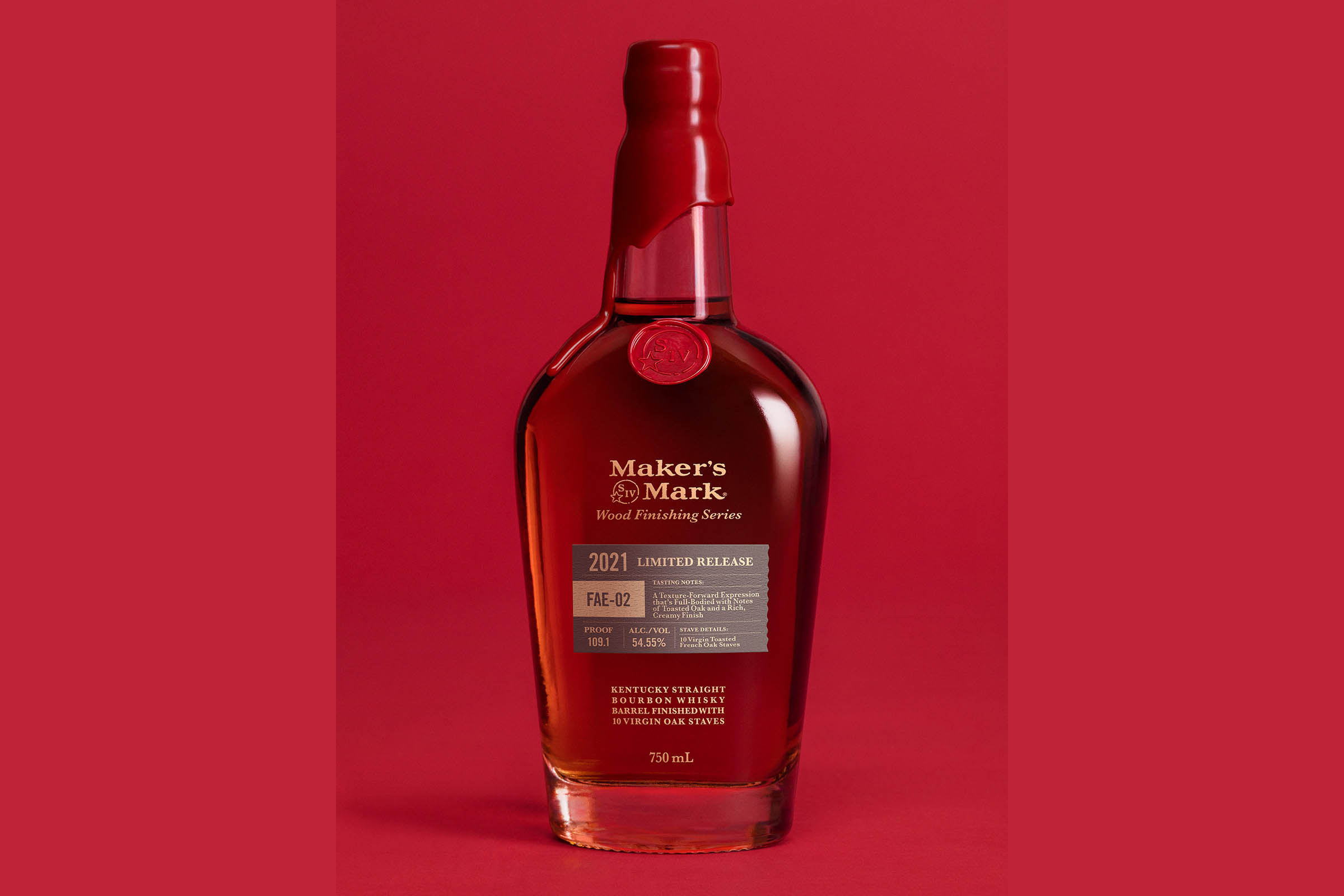 Maker's Mark Wood-Finishing Series 2021 Limited Release FAE-02