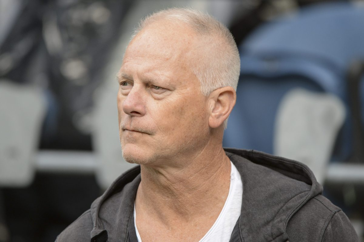 Former ESPN sportscaster Kenny Mayne at an NFL game in 2019. Mayne has just joined Caesars Sportsbook.