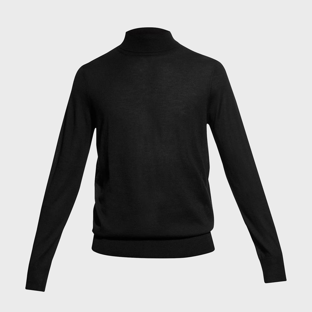 Neiman Marcus Fine Gauge Turtleneck Sweater