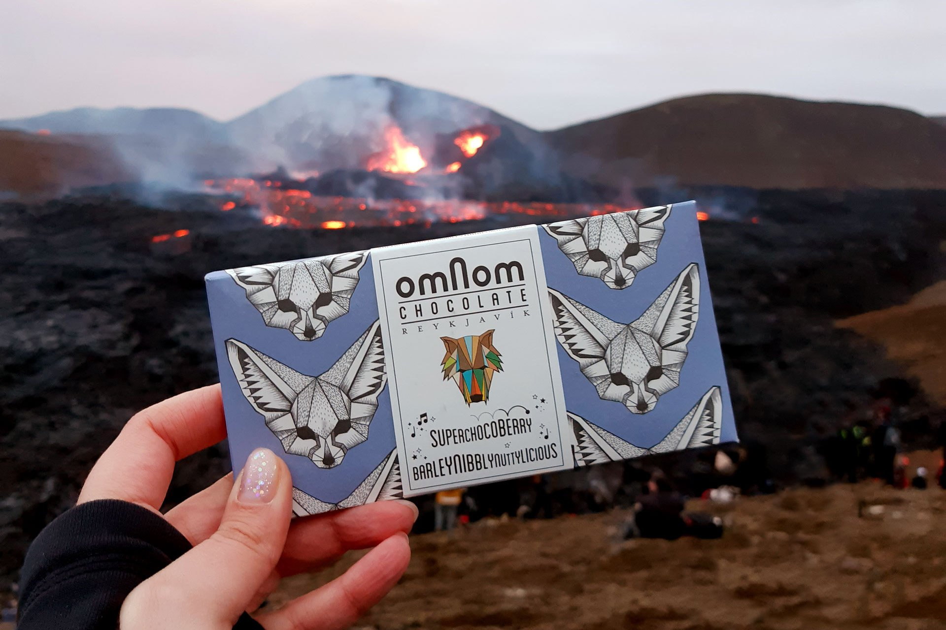"""A """"superchocoberry"""" bar from Omnom"""
