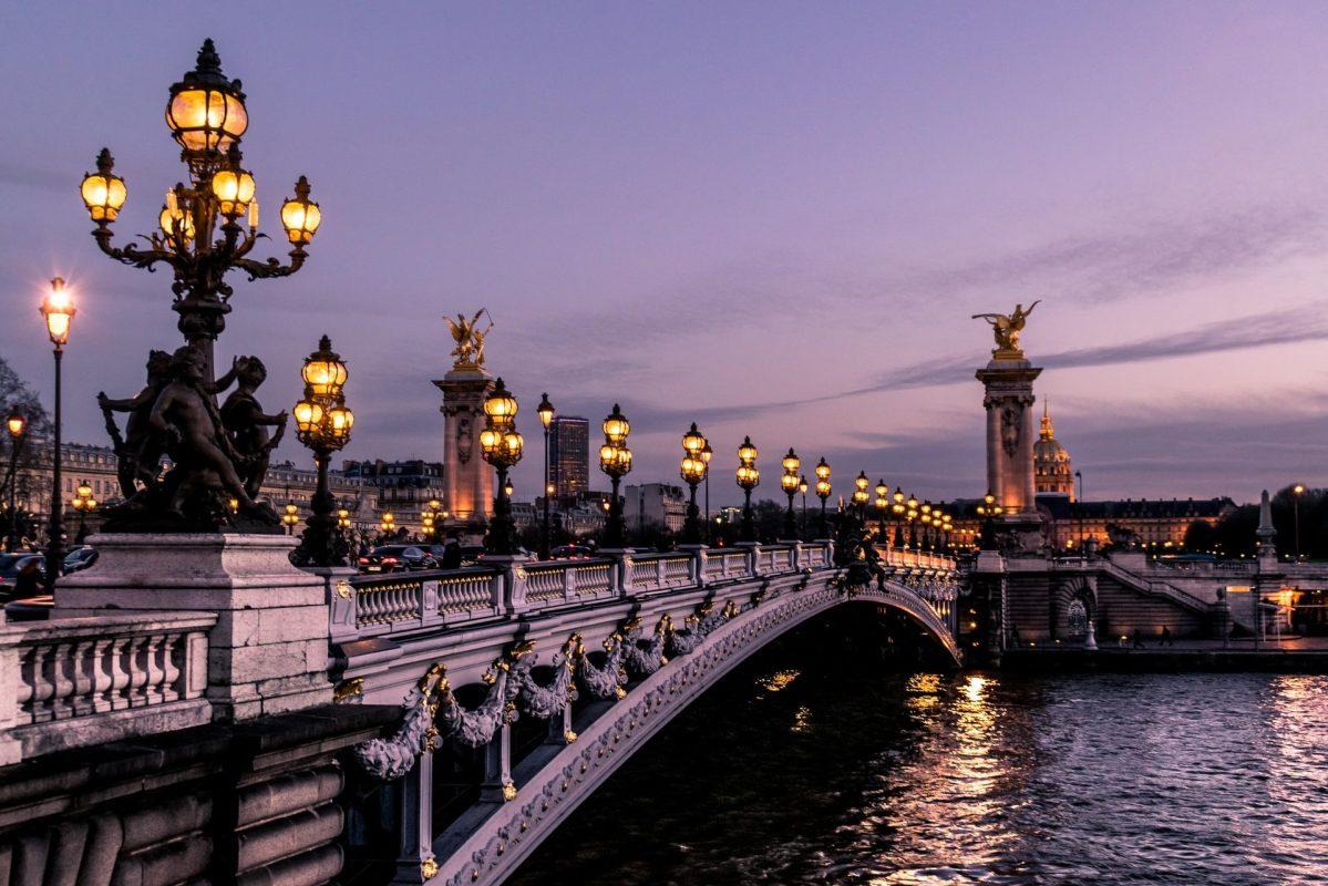 Bridge in Paris