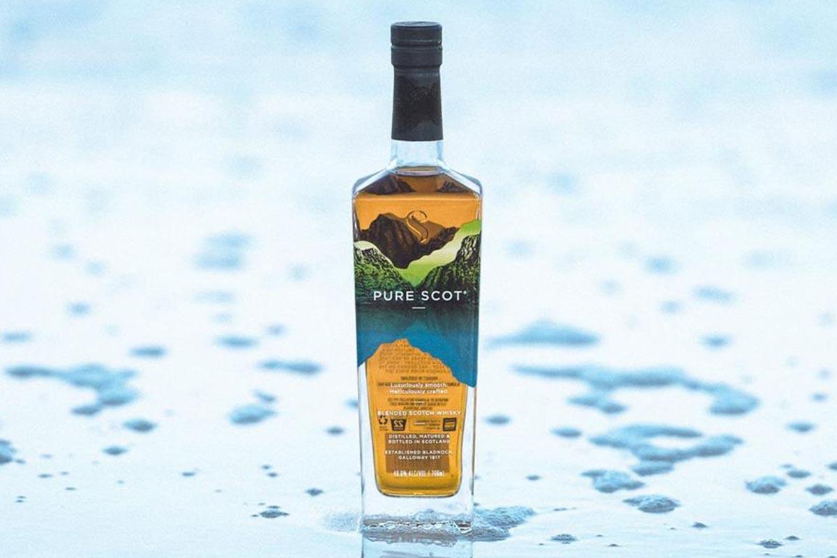 Pure Scot whiskey