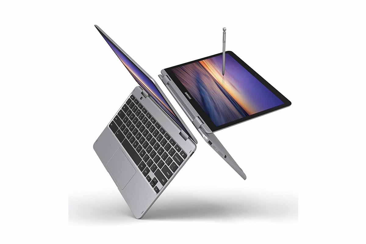 Samsung Chromebook Plus V2 2-in-1 Laptop, now on sale at Woot