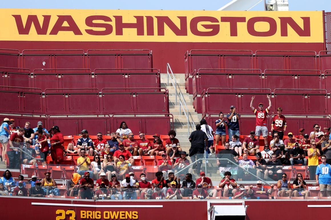 Washington Football Team Fans