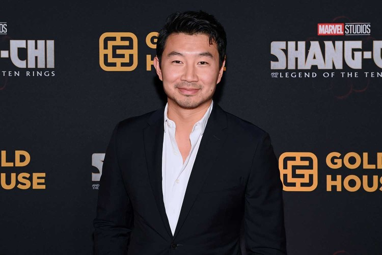 Simu Liu attends the Toronto Premiere of 'Shang-Chi and the Legend of the Ten Rings' at Shangri-La Hotel on September 01, 2021 in Toronto, Ontario.