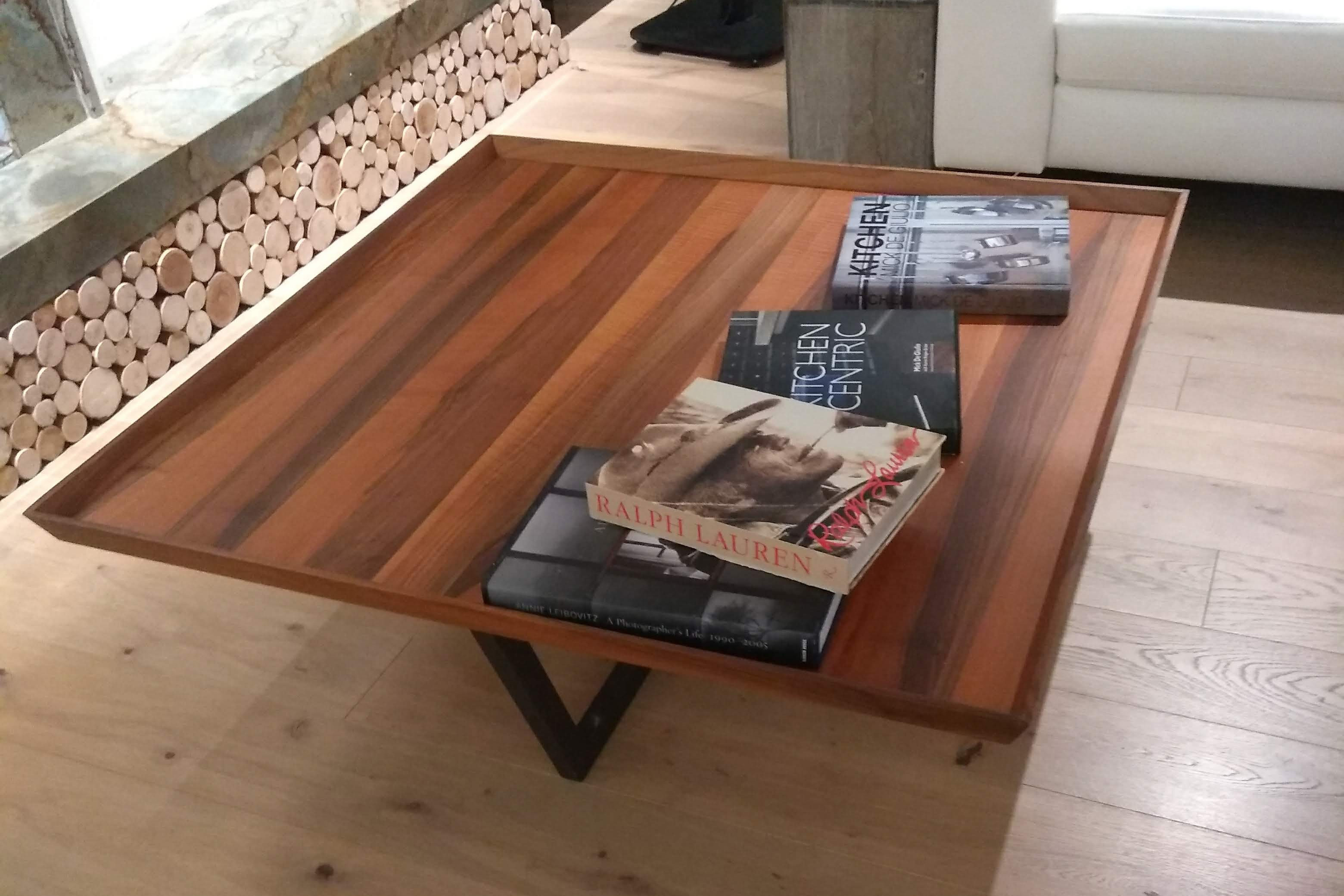 A coffee table from Wood Urban Design