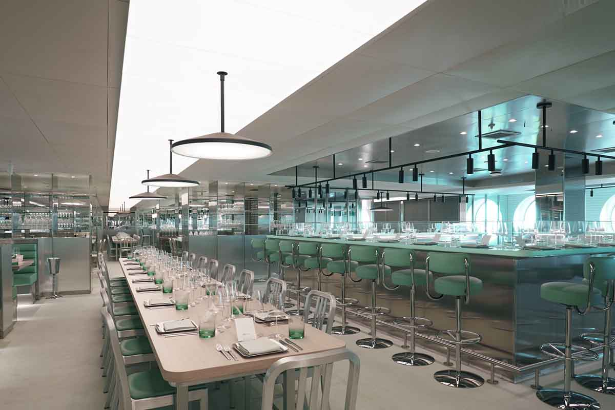 Tasting Room, a restaurant on-board the Scarlet Lady