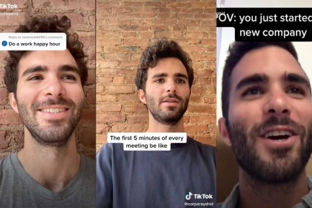 This TikToker Perfectly Recreates Every Boring Work Conversation You've Ever Had