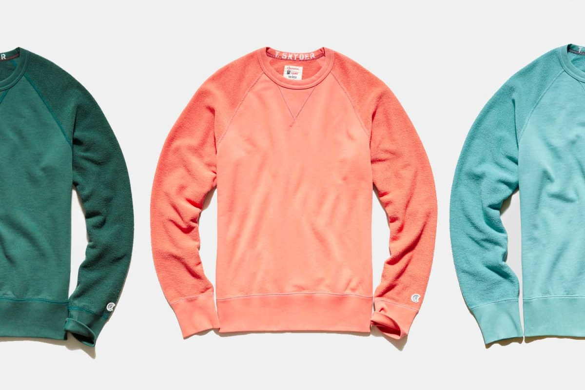 Deal: Save $79 on This Champion x Todd Snyder French Terry Sweatshirt