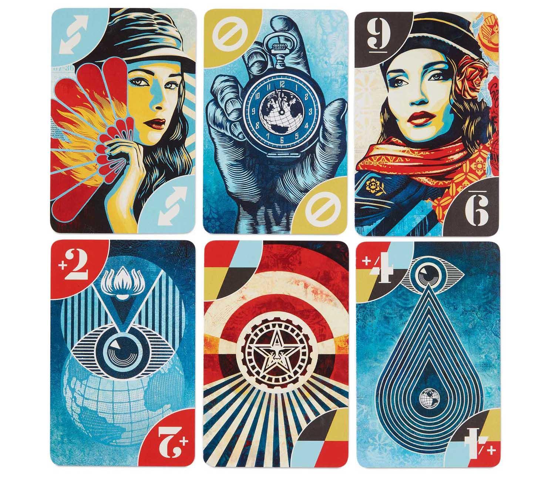 Shepard Fairey's new UNO Deck is part of their Artiste Series