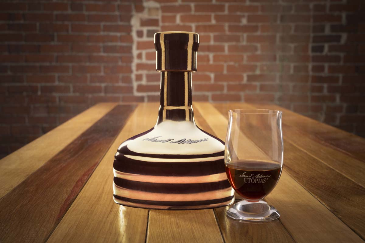 Samuel Adams Utopias 2021 release, now up for auction and available for general release in early October