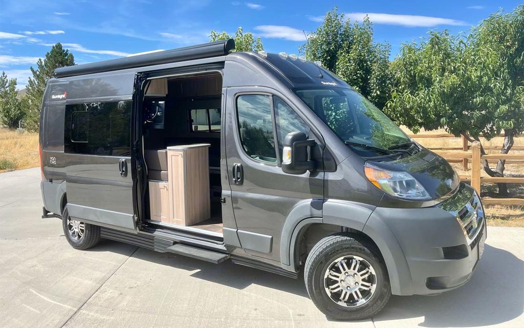 My 2019 Erwin Hymer Group Sunlight Van Two