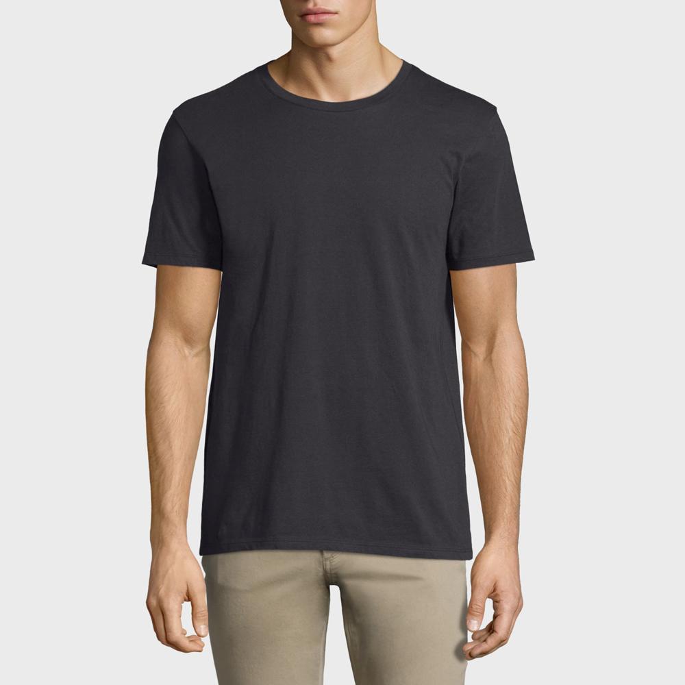 Vince Short-Sleeve Pima Crewneck Jersey T-Shirt