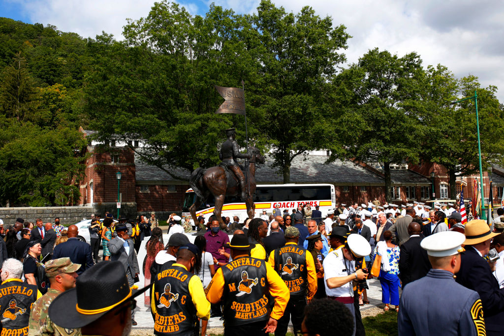 West Point Buffalo Soldiers Statue