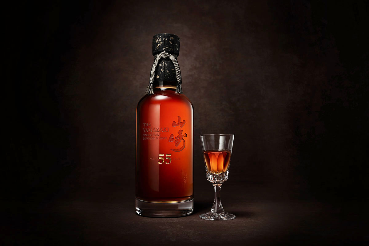 Yamazaki 55, a new release from the House of Suntory