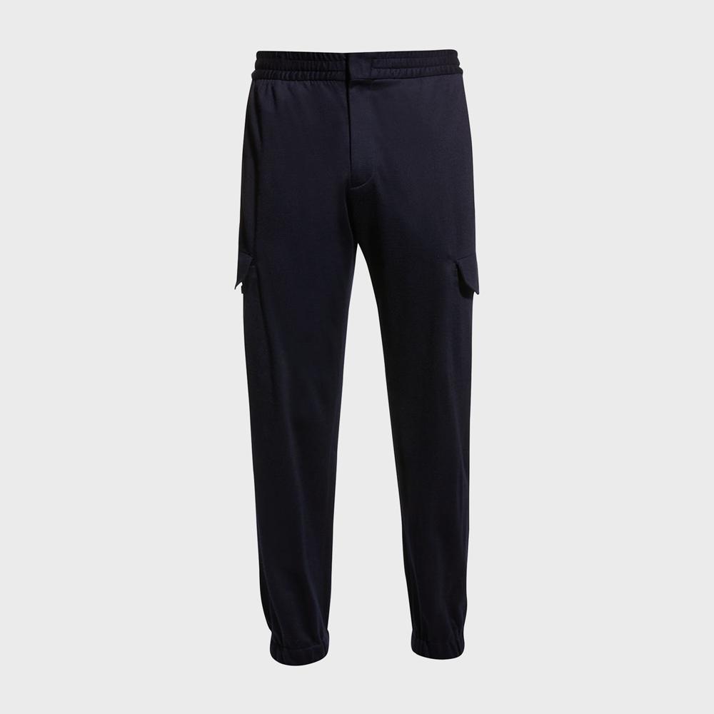 Ermenegildo Zenga Jersey Cargo Jogger Pants