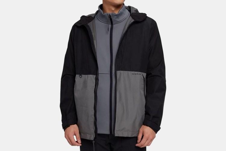 burton shell jacket