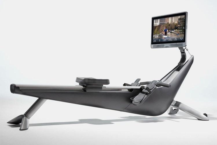 A Hydrow rowing machine.