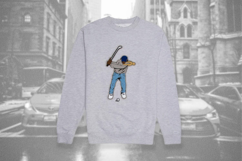 Gray shirt from Eastside