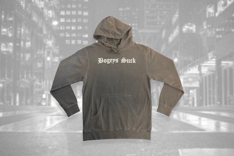Gray hoodie from Minu Kids