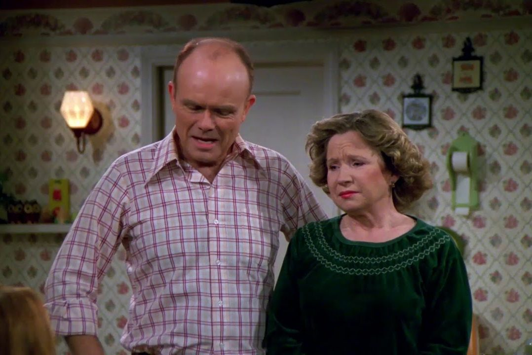 """Red and Kitty Foreman in """"That '70s Show"""""""
