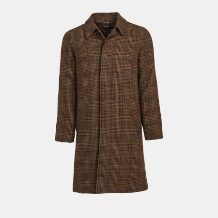 a checkered brown Mac jacket from APC