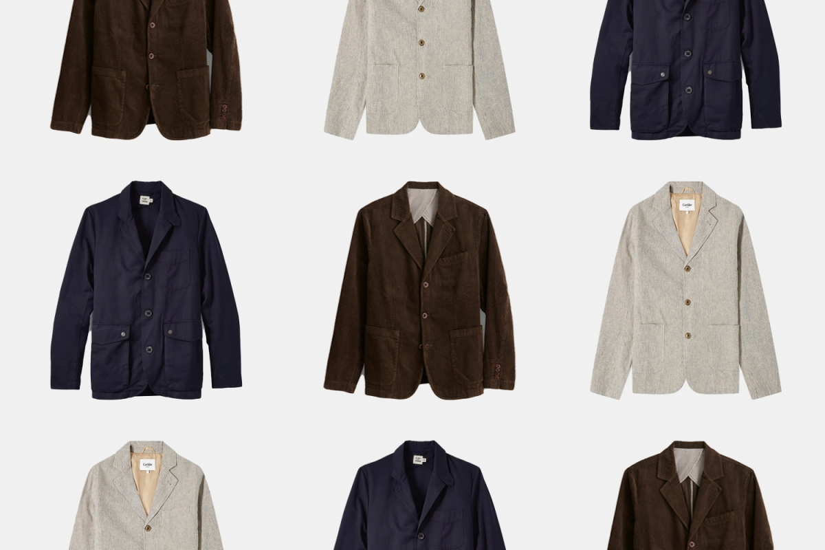 a collage of blazers
