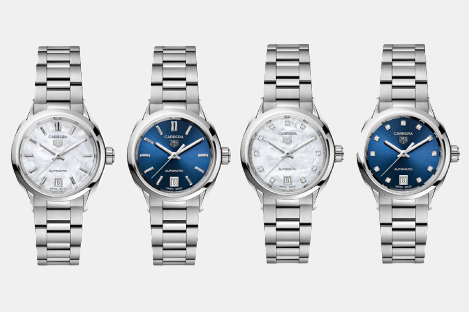 A collection of luxury watches