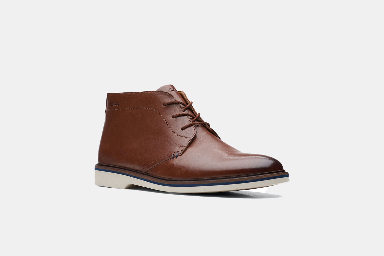 a brown leather boot