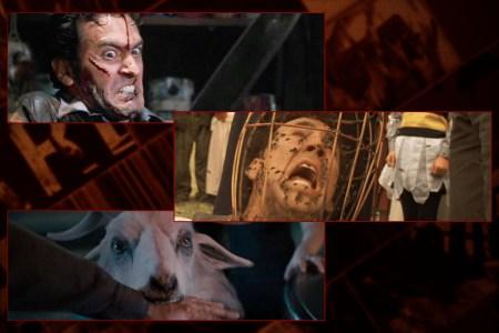 Funny horror movie scenes