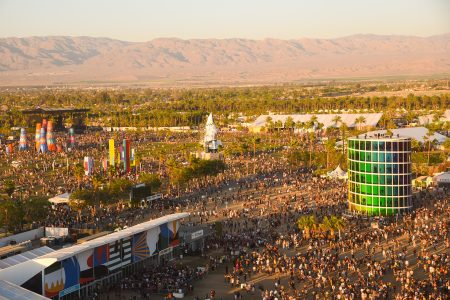 Festival atmosphere at the 2019 Coachella Valley Music And Arts Festival - Weekend 2 on April 21, 2019 in Indio, California. Attendees to the 2022 event can now substitute a Covid test in lieu of vaccination.