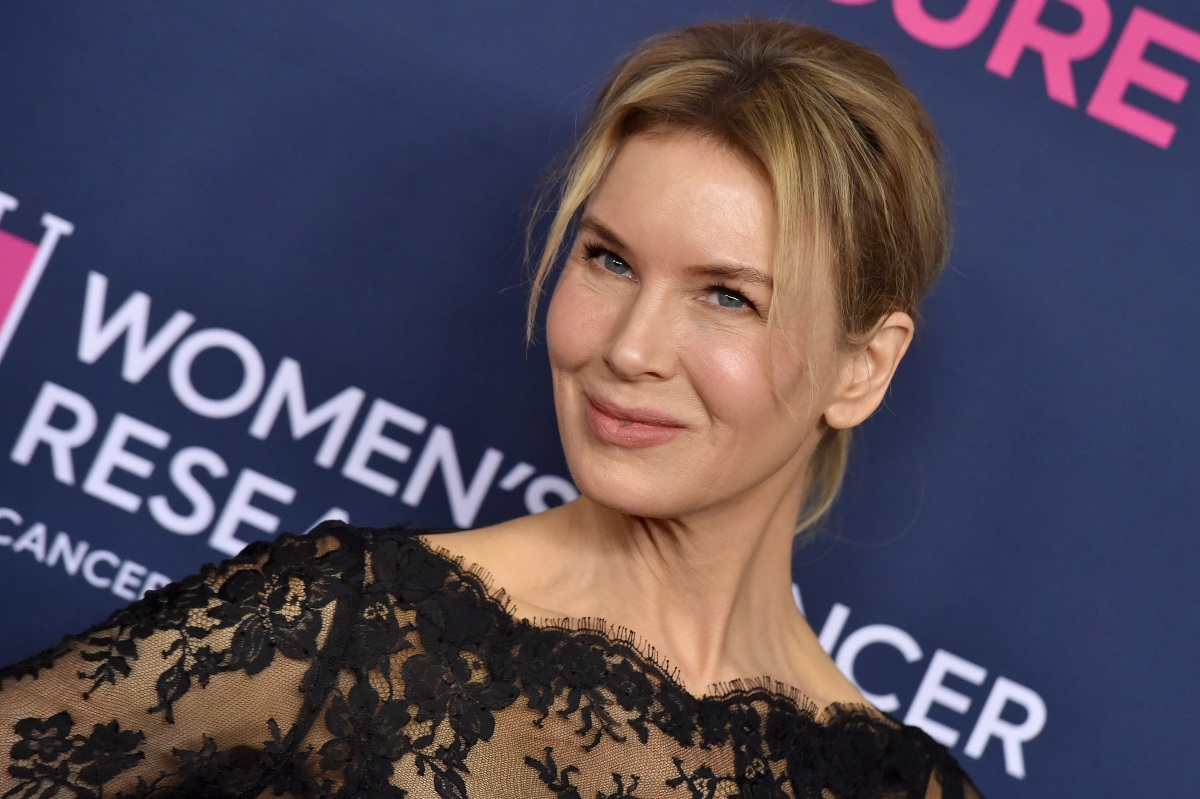 Renee Zellweger attends The Women's Cancer Research Fund's An Unforgettable Evening 2020. The actress is currently wearing a fat suit for a role, which has led to some debate on casting choices in Hollywood.