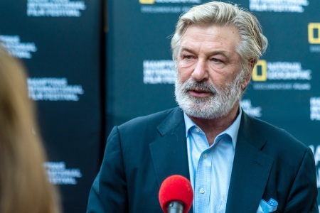 Alec Baldwin attends the World Premiere of National Geographic Documentary Films' 'The First Wave' at Hamptons International Film Festival on October 07, 2021 in East Hampton, New York.