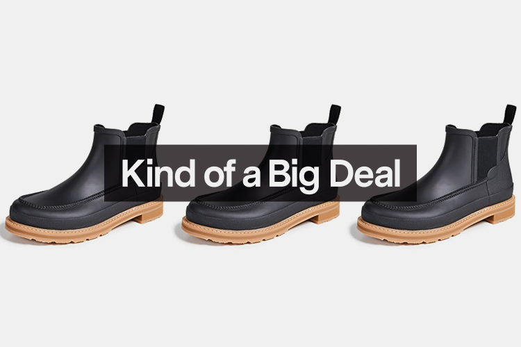 These Popular Hunter Boots Are $50 Off Right Now