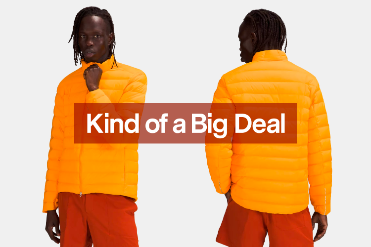 Save $99 on This Vibrant Lululemon Stretch Down Jacket Today