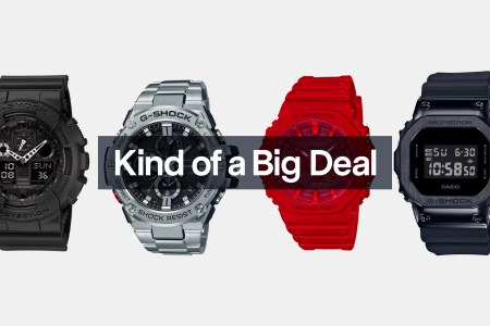Save 25% on a Selection of G-Shock Watches at Macy's
