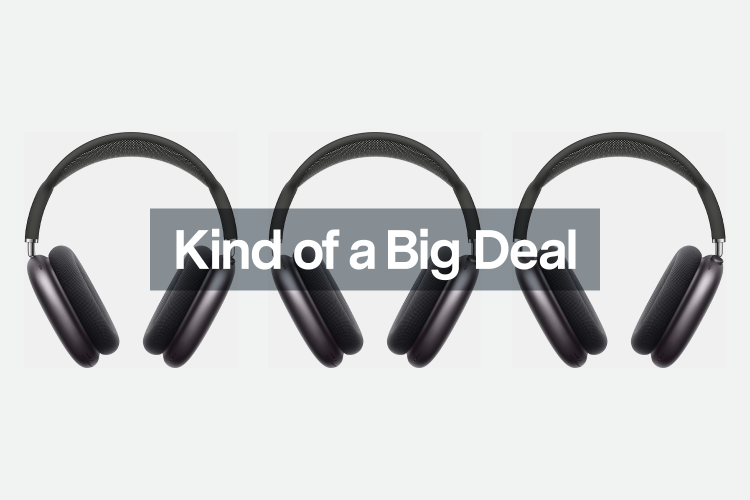 Save $70 on a New Pair of Apple AirPods Max Today