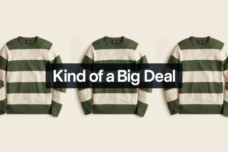 Save $65 on This Ultra Soft Cashmere Sweater From J.Crew