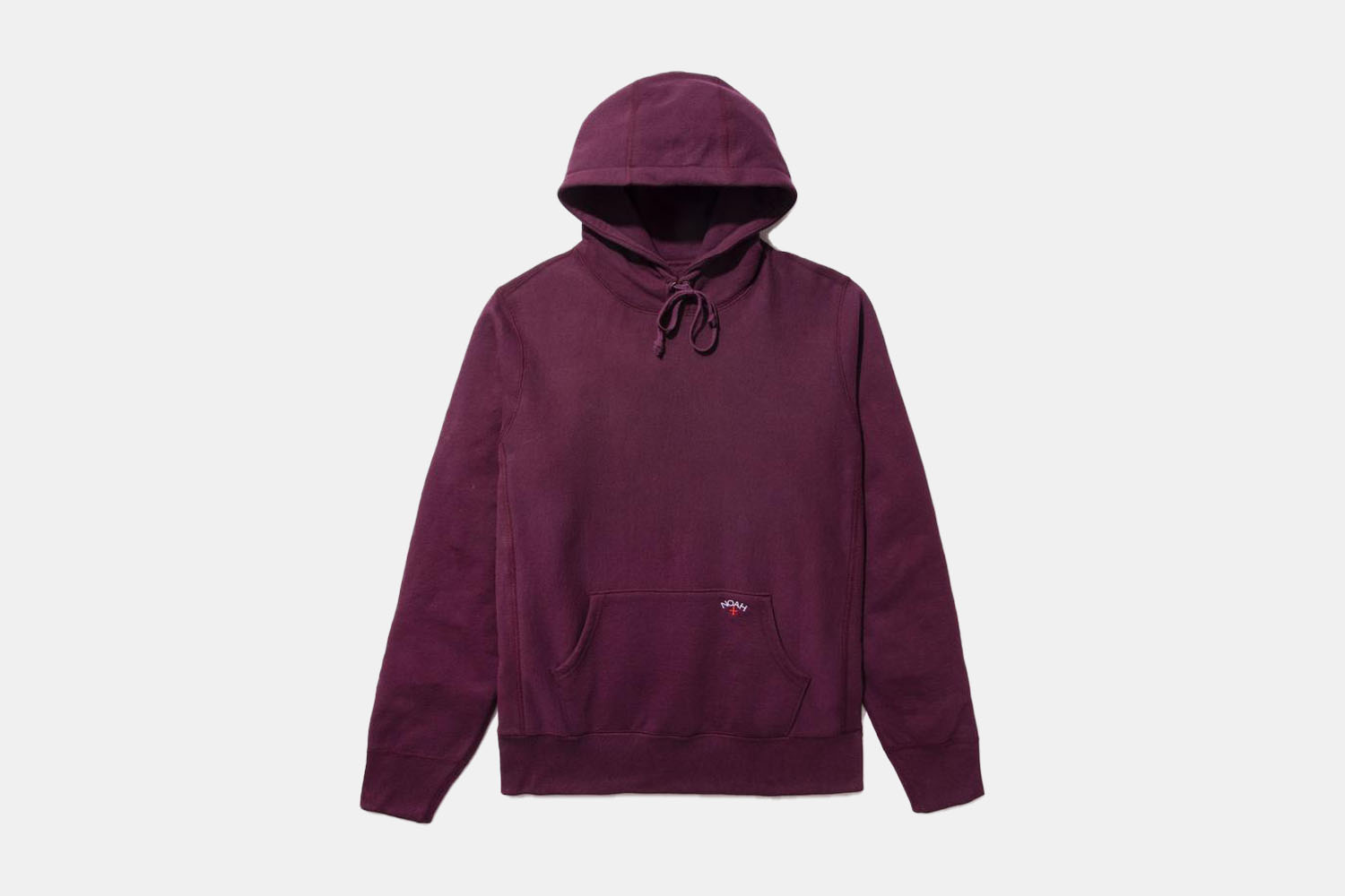 A plum colored hoodie