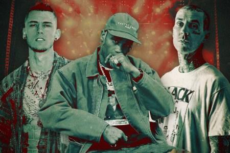 Machine Gun Kelly, Travis Scott, Travis Barker