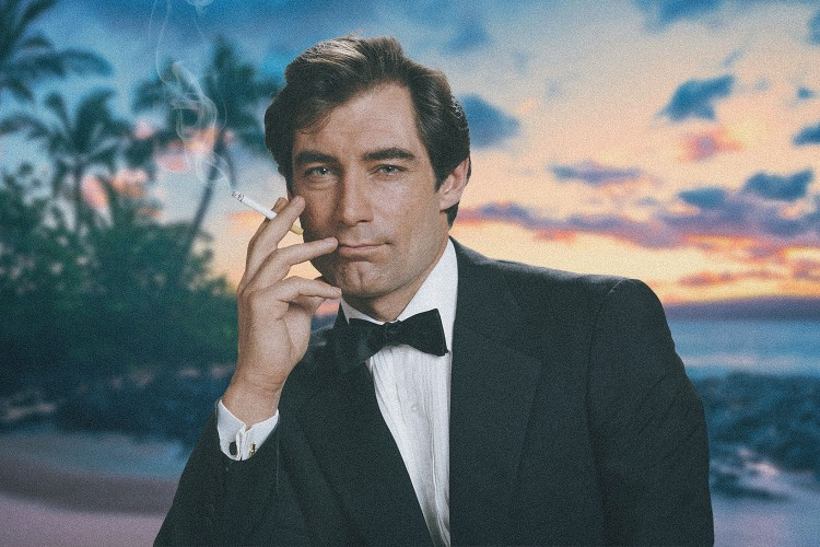 Timothy Dalton, smoking a cigarette is the most underrated James Bond of all time