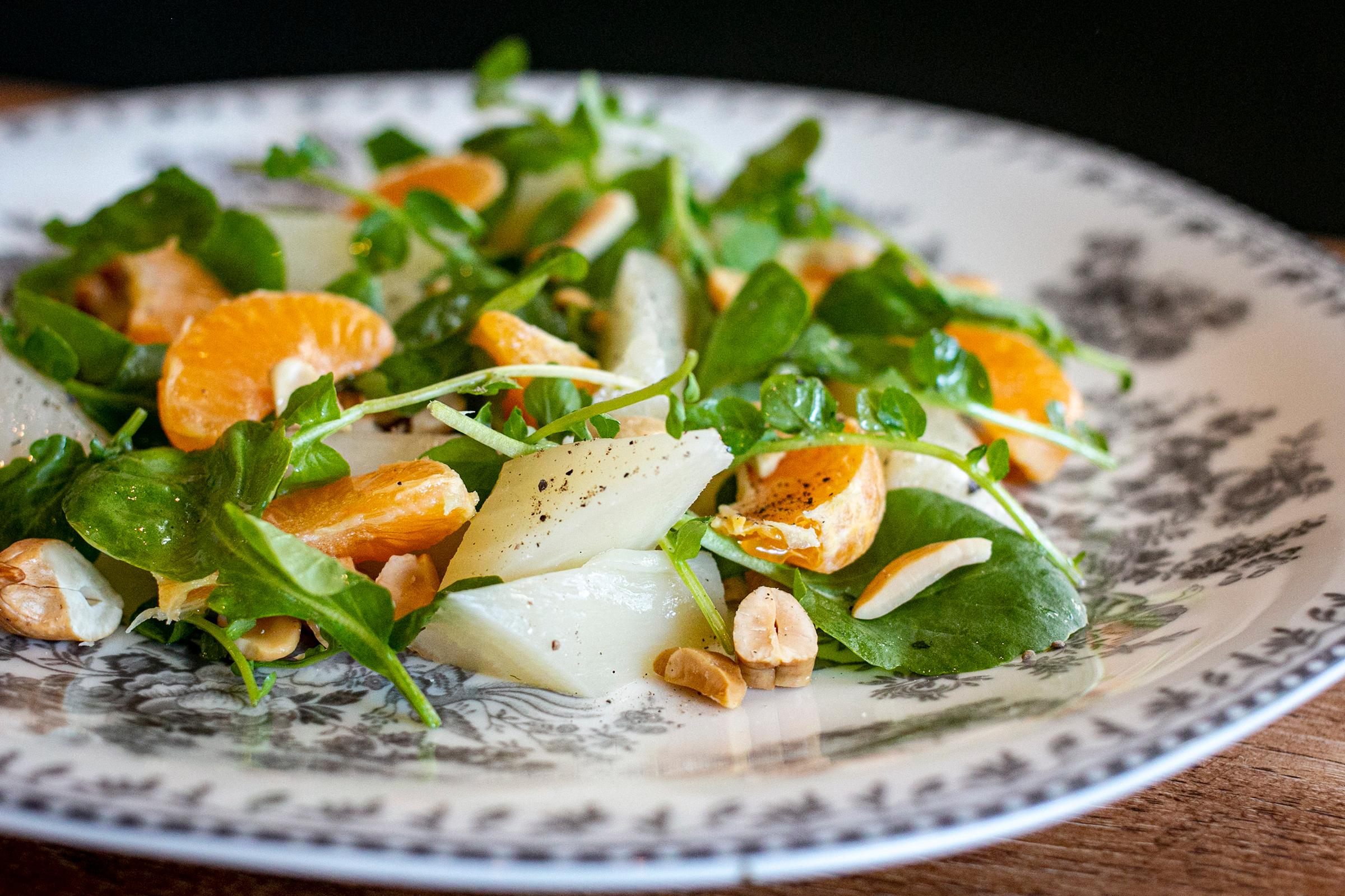 Virtue's sugarbeet salad.
