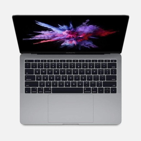 An open MacBook Pro, now on sale at Woot