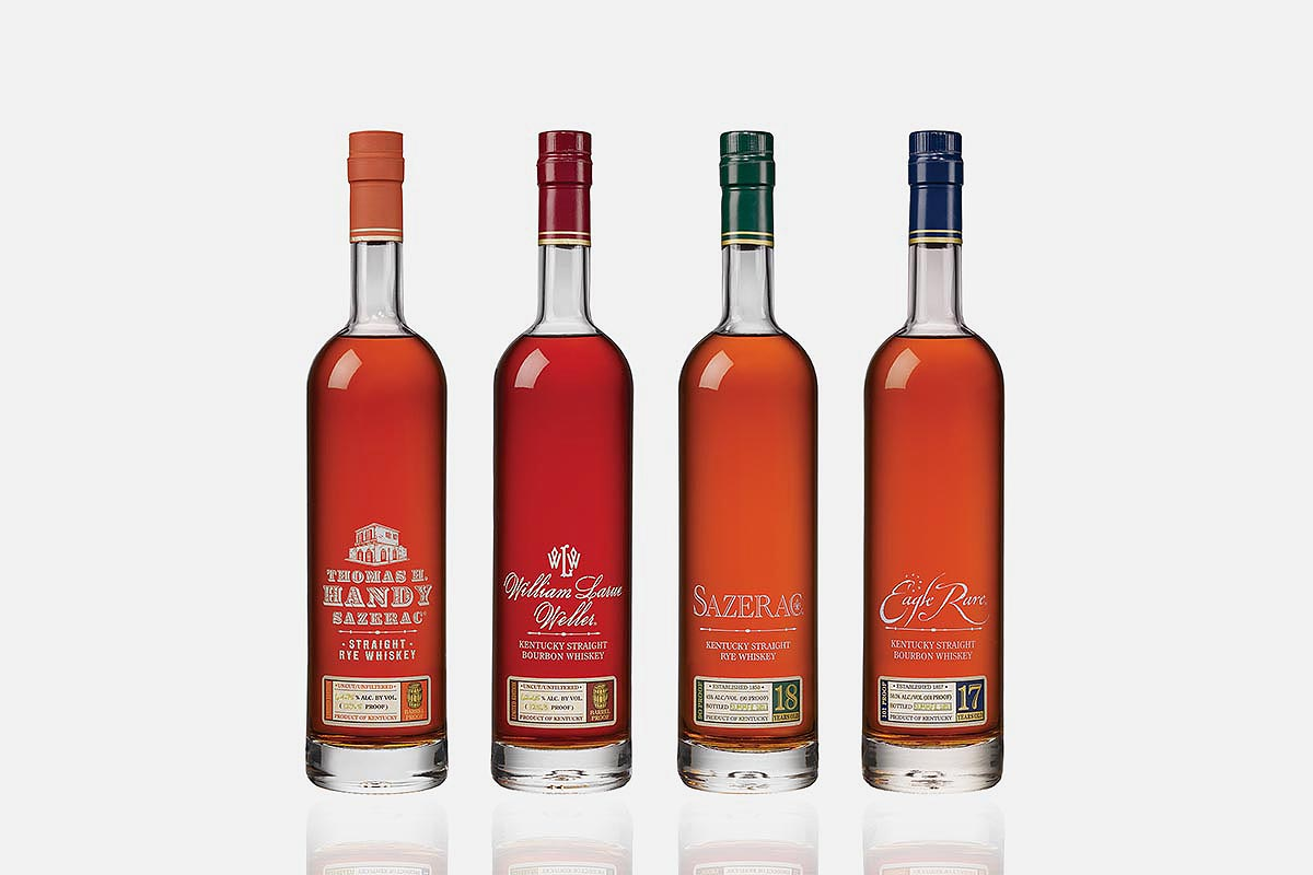 The 2021 releases of the Buffalo Trace Antique Collection