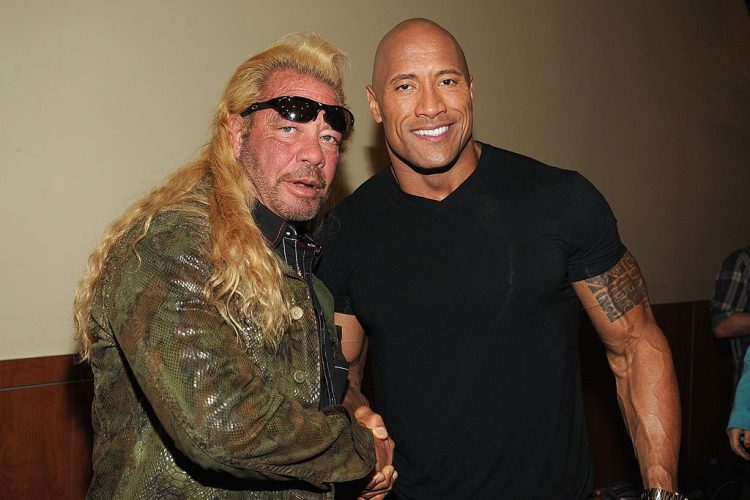 Dog the Bounty Hunter and the Rock