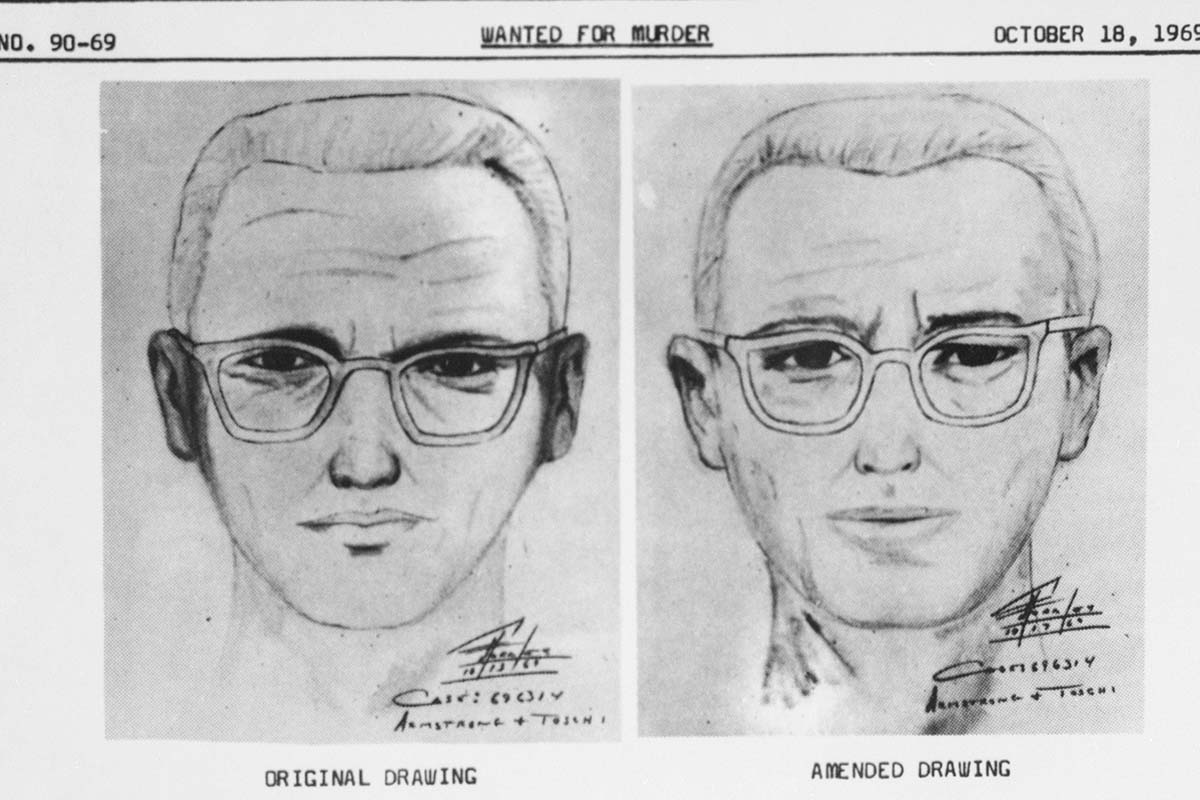 """San Francisco police circulated this composite of the Bay Area's """"Zodiac"""" killer, who has now seemingly been identified"""