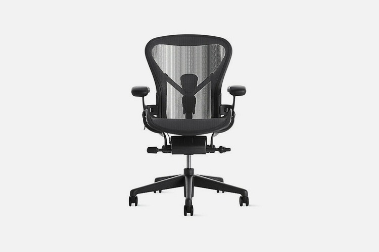 Authentic Herman Miller® Aeron® Chair B, now over $400 off during a sale at eBay