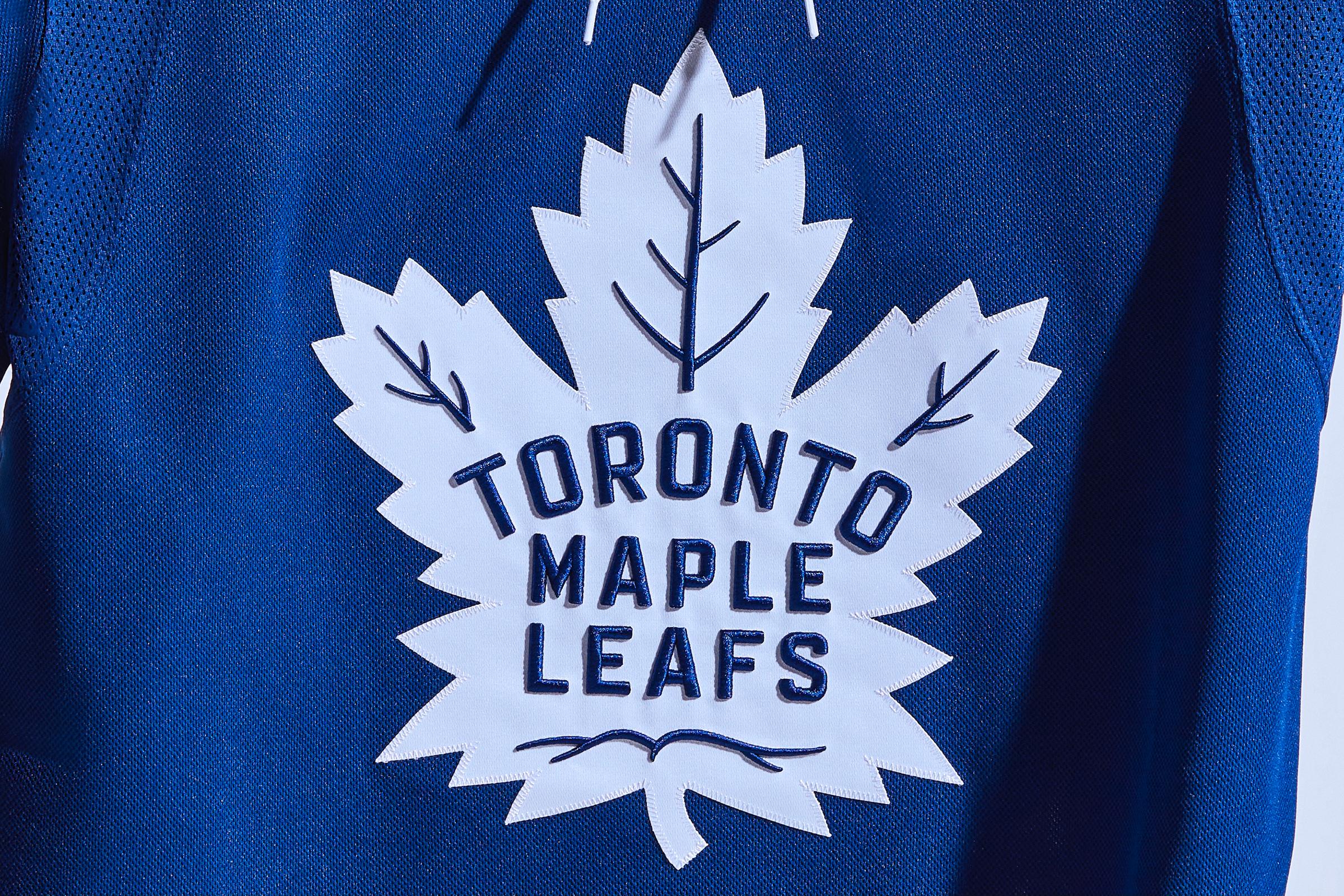 The Mapleleafs' new uniform.