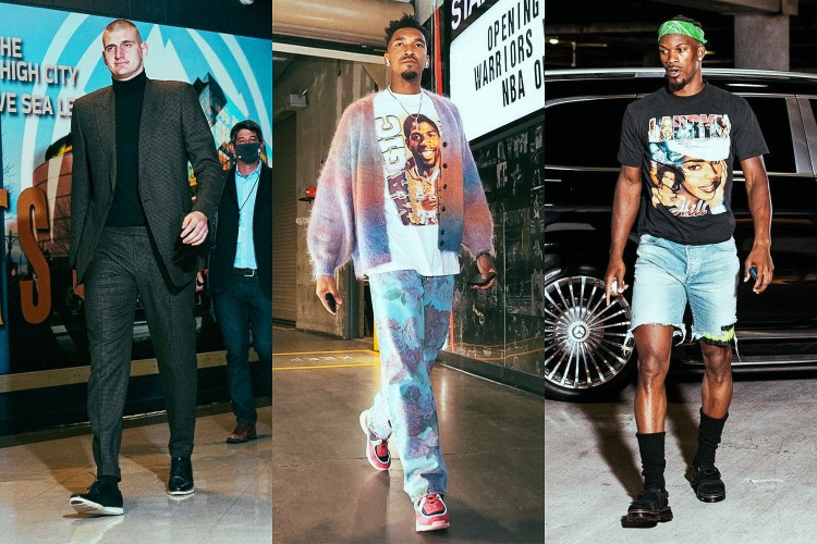 a collage of the best NBA fits